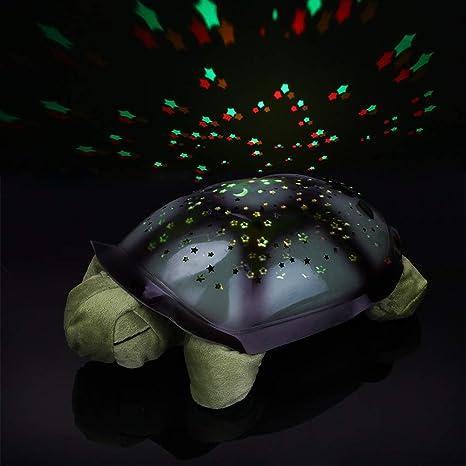 TVKL Luz de la noche Dormir tortuga vivero luz nocturna con ...