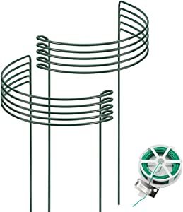 Garden Supports for Plants Metal 10pack 10