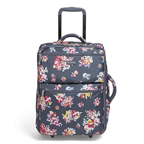 Vera Bradley Rolling Luggage - Vera Bradley Lighten Up Small Foldable Roller, Tossed Posies