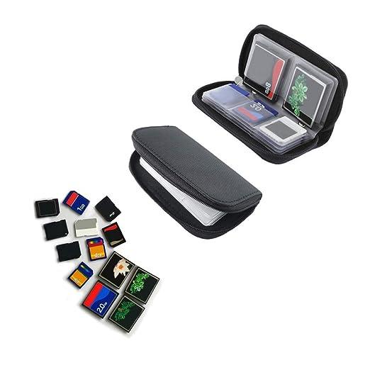 Funda para tarjeta de memoria - Adecuado para tarjetas SDHC ...