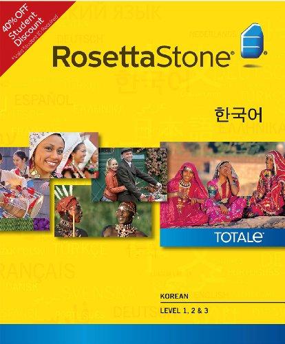 Rosetta Stone Korean Level 1-3 Set - Student Price (Mac) [Download]
