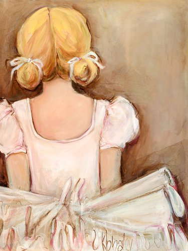 Oopsy Daisy Beautiful Ballerina- Blonde Stretched Canvas Wall Art by Kristina Bass-Bailey & Amazon.com: Oopsy Daisy Beautiful Ballerina- Blonde Stretched Canvas ...