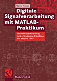 Digitale Signalverarbeitung mit MATLAB®-Praktikum: Zustandsraumdarstellung, Lattice-Strukturen, Prädiktion und adaptive Filter (Studium Technik) (German Edition), Martin Werner, 3834803936