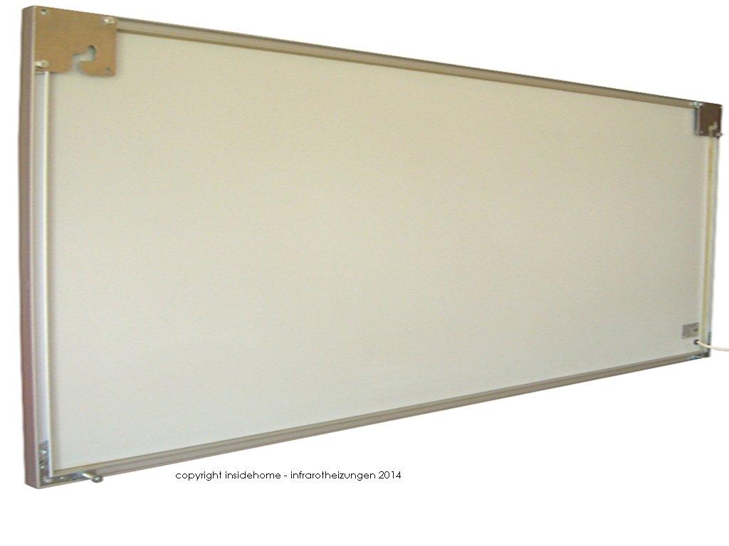 Infrarotheizung Spiegel mit Aluminium - Rahmen, 10mm ...