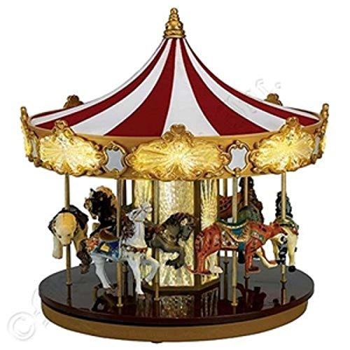 Mr. Christmas Animated Musical Celebration Carousel Decoration -