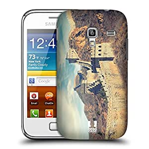 Head Case Designs Retro Great Wall of China Famous Landmarks Protective Snap-on Hard Back Case Cover for Samsung Galaxy Ace Plus S7500