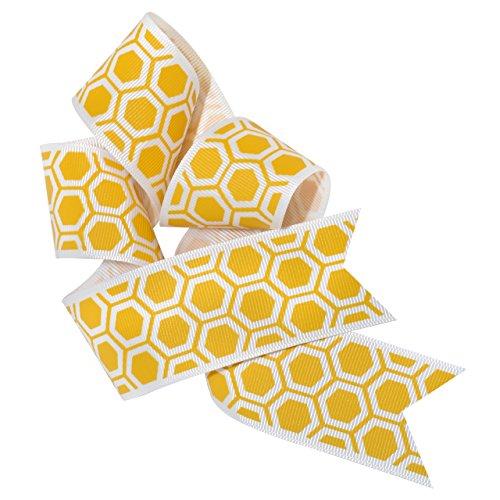 (Morex Ribbon 7554.38/25-634 Honeycomb Polyester, 1 1/2