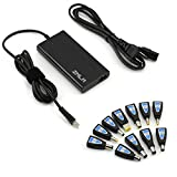 Universal Laptop Charger,75W Ultra Slim AC Adapter Power Supply Cord with USB Port for Mobile/Tablet and11Tips for Dell Lenovo Acer Toshiba Samsung Asus Sony Fujitsu Gateway Most Compatible Models