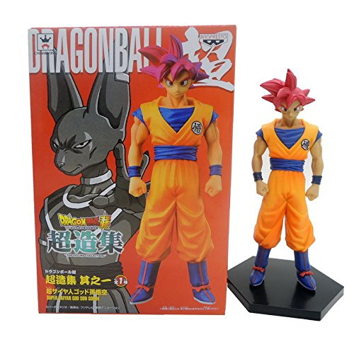 Japanese Anime Dragon Ball Z Super Saiyan God 2 Dragonball Son Goku Red Hair 6