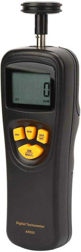 Smart Sensor 0.5~19999 Rotation Meter with LCD Backlight Display Digital Hand Tachometer Roadiress RPM Contact Digital Tachometer