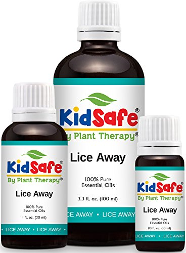 KidSafe Lice Away Synergy Essential Oil Blend, Essential Oils for Lice