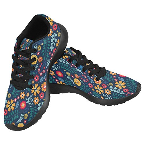 InterestPrint Womens Jogging Running Sneaker Lightweight Go Easy Walking Casual Comfort Sports Running Shoes Multi 9