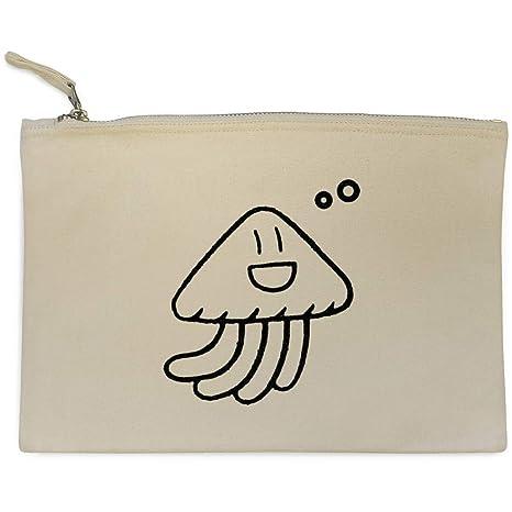 Azeeda Medusas de Dibujos Animados Bolso de Embrague / Accesorios Case (CL00011030)