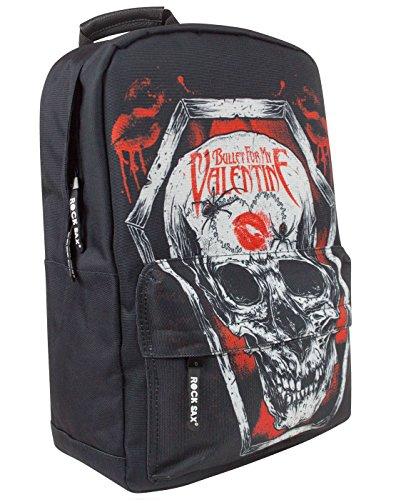 Rock Sax Bullet For My Valentine Coffin Backpack (Tuck Valentine)