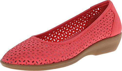 G.H. Bass & Co. Women's Broadway Shoe - Coral - 7 B(M) US
