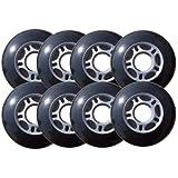 OUTDOOR Inline HOCKEY Wheels 2-72mm 4-76mm 2-80mm ABEC5