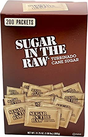 Amazoncom Sugar In The Raw 200 Count Packets Industrial