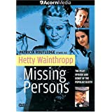 Hetty Wainthropp - Missing Persons by Patricia Routledge