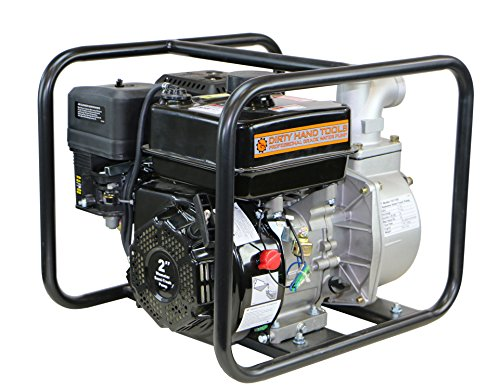 "Dirty Hand Tools 101100 Water/Semi-Trash Pump - (Hose Kit Sold Separately) 158GPM 7HP 2"" Diameter"