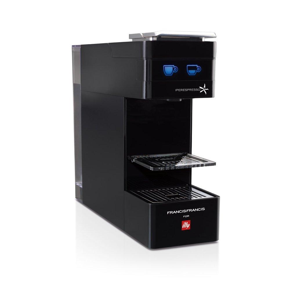 illycaffè Y3 Iperpresso - Máquina de café en cápsulas, color negro: Amazon.es: Hogar