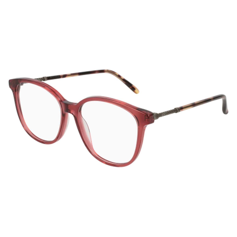SILVER 003 BURGUNDY Eyeglasses Bottega Veneta BV 0137 O
