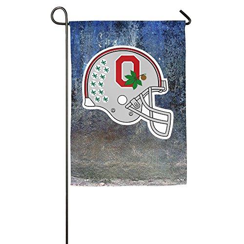Brutus Mascot Costume (Duola Team Logo Helmet Decorative Garden Flag Bar Banner 12*18inch)