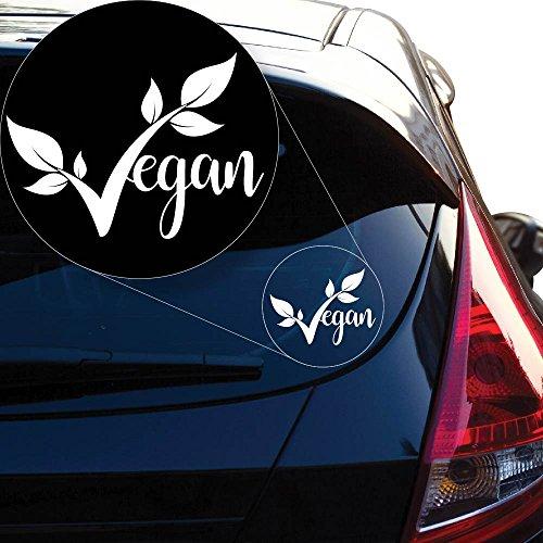 Yoonek Graphics Vegan pride Decal Sticker for Car Window, Laptop and More # 952 (6