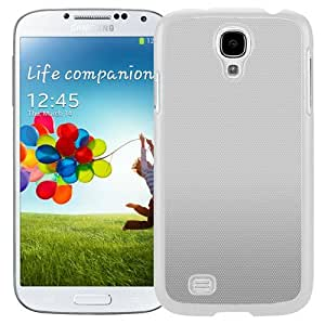 Unique and Fashionable Cell Phone Case Design with Gray iOS7 Pattern Galaxy S4 Wallpaper in White