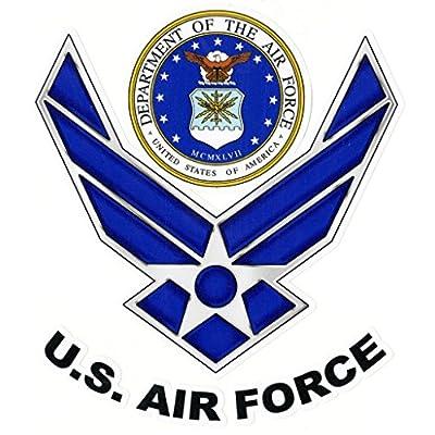 Keen U.S. Air Force Vinyl Decal Sticker Cars Trucks Vans Walls Laptops Full Color 5.5 in KCD750: Automotive
