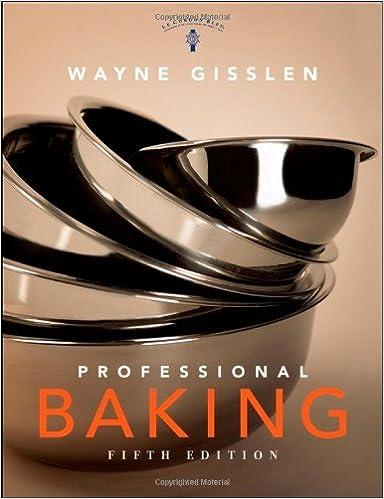 Professional Baking Book