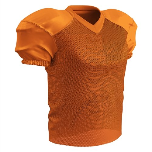 CHAMPRO Youth Stretch Polyester Practice Football Jersey, Or