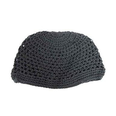 Amazon Kufi Cap Knitted Large Black Clothing