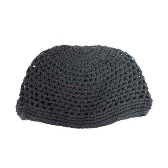 7cf15c12398b8d Kufi Cap - Knitted - Black: Amazon.ca: Clothing & Accessories