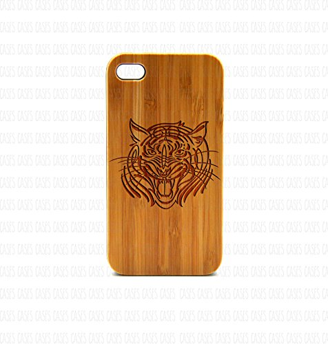 Krezy Case Real Wood iPhone 5 Case, Tiger iPhone 5 Case, Wood iPhone 5 Case, Wood iPhone Case,