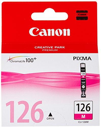 Canon Tanque de Tinta PIXMA CLI-126 M MAGENTA