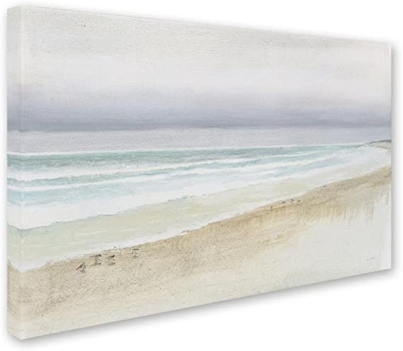 Global Gallery James Wiens Serene Seaside III Giclee Stretched Canvas Artwork 24 x 24