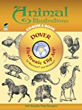 Animal Illustrations CD-ROM and Book (Dover Electronic Clip Art)