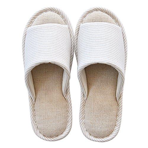 algodón 40 primavera beige 44 La 39 azul 43 impermeable y zapatillas el Home otoño antideslizante xXdSOqA