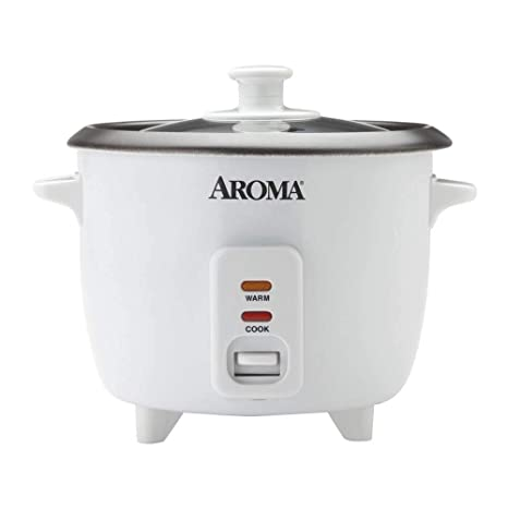 Amazon.com: Aroma 6-Cup pot-style Arrocera, color blanco ...