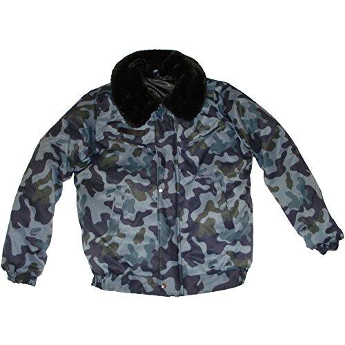 Modern Russian Military Winter Camo Jacket Uniform Municipal Size ...