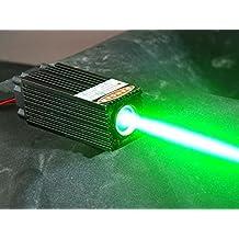 Fat Beam 60mW 532nm Green Laser Dot Diode Module W/ TTL