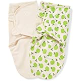 SwaddleMe Original Organic Swaddle 2-PK, Apples & Ivory (SM)