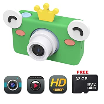 Mesigu - Cámara de vídeo Digital para niños (HD, 8 MP ...