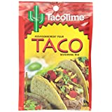 Taco Time, Authentic Restaurant Flavour, Taco Seasoning Mix, 40g, 12 Count
