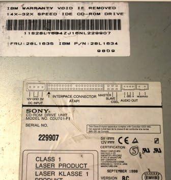 IBM 28L1645 32X IDE CD ROM