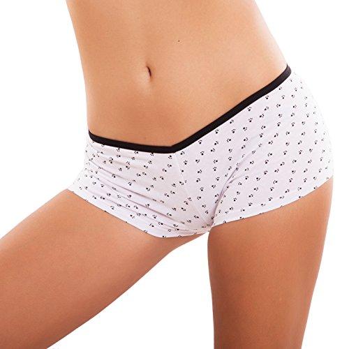 Toocool - Shorts - para mujer blanco
