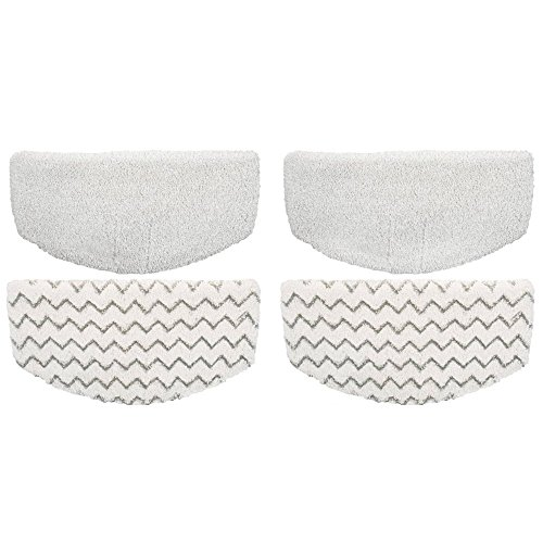 4 Pack Replacement Bissell Powerfresh Pads for the Bissell Powerfresh 1940 Series Steam Mop by AQUA GREEN