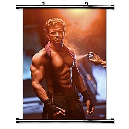 Amazon com: Hrithik Roshan Bollywood Actor Wall Scroll