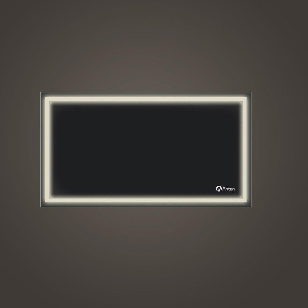 Super Anten® LED Badspiegel 18W 4000K IP65 Badezimmerspiegel mit  PW17