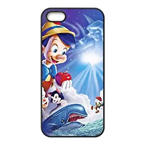 iPhone 4 4s Cell Phone Case Covers Black Pinocchio Phone Case Cover Plastic Back XPDSUNTR01426